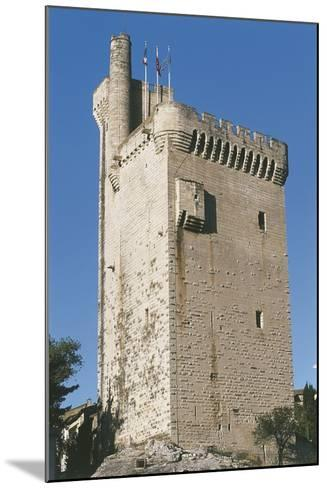Low Angle View of a Tower--Mounted Photographic Print