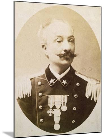 Lieutenant Colonel Tommaso De Cristoforis (Casale Monferrato--Mounted Giclee Print