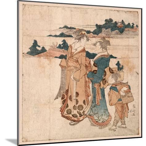 Miyamode Suru Bijin--Mounted Giclee Print