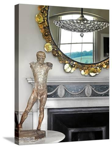 Model of a Classical Male--Stretched Canvas Print