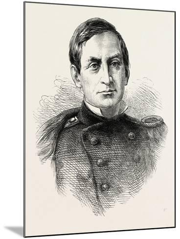 Major Anderson--Mounted Giclee Print