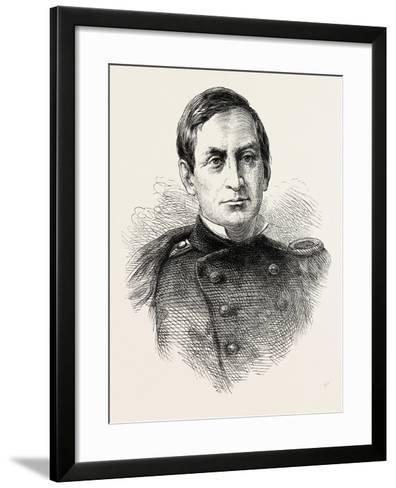 Major Anderson--Framed Art Print