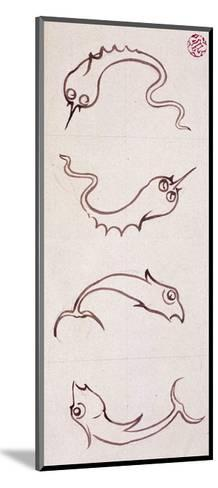 Motifs for Bathroom Tiles--Mounted Giclee Print