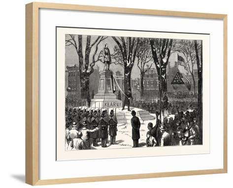 New Jersey--Framed Art Print