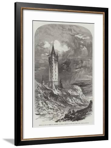 Memorial to the Late Marquis of Londonderry--Framed Art Print