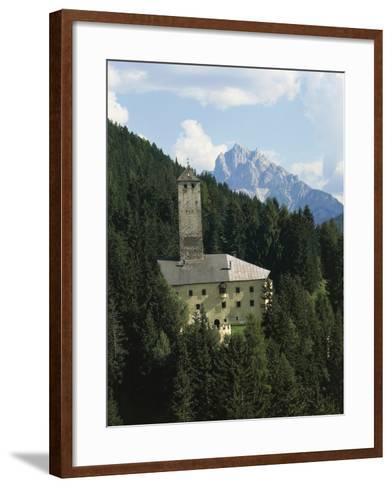 Monguelfo Castle (Schloss Welsperg)--Framed Art Print