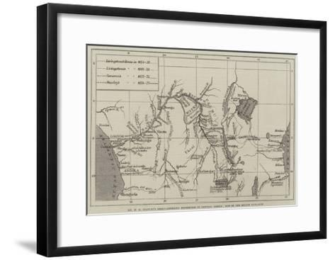 Mr H M Stanley's Anglo-American Expedition for the Exploration of Central Africa--Framed Art Print