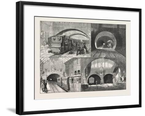 New Route to Brighton--Framed Art Print
