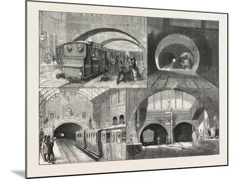 New Route to Brighton--Mounted Giclee Print