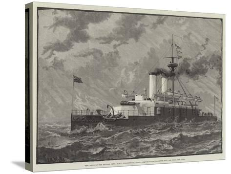 New Ships of the British Navy--Stretched Canvas Print