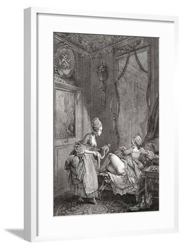 Medical Enema--Framed Art Print