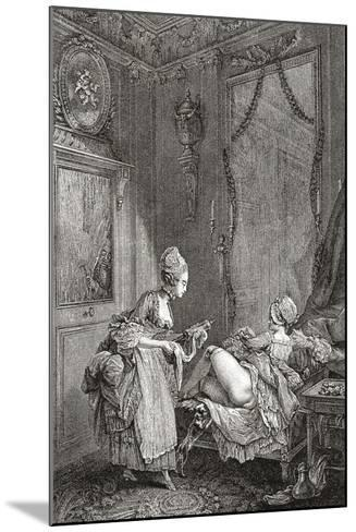 Medical Enema--Mounted Giclee Print