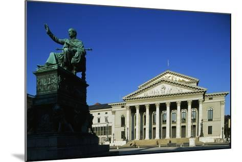 Monument of Max I Joseph (Schwetzingen--Mounted Photographic Print