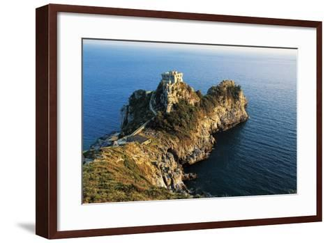 Medieval Watchtower at Conca Cape--Framed Art Print