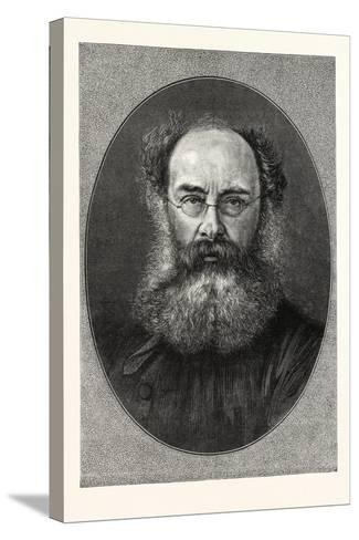Mr. Anthony Trollope--Stretched Canvas Print