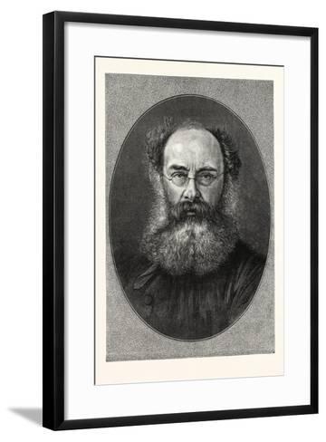 Mr. Anthony Trollope--Framed Art Print