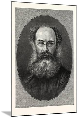 Mr. Anthony Trollope--Mounted Giclee Print