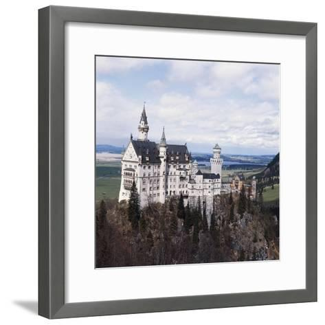 Neuschwanstein Castle--Framed Art Print