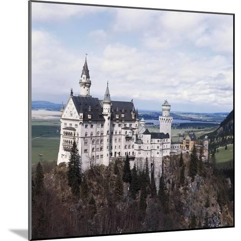 Neuschwanstein Castle--Mounted Photographic Print