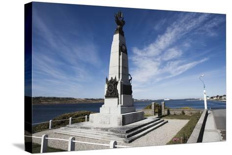 Monument to Celebrate British Victory in Naval Battle of 8 December 1914 Between Royal Navy and Imp--Stretched Canvas Print