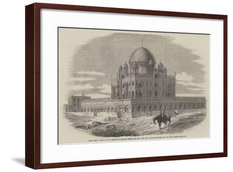 Near Delhi--Framed Art Print