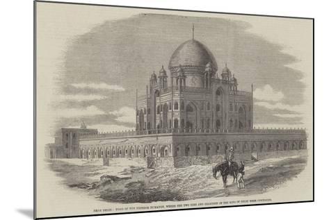 Near Delhi--Mounted Giclee Print