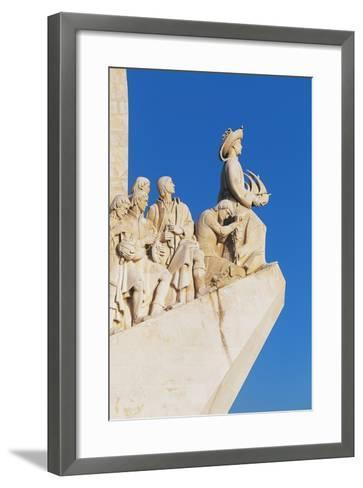 Monument to Discoveries (Monument to the Discoveries)--Framed Art Print