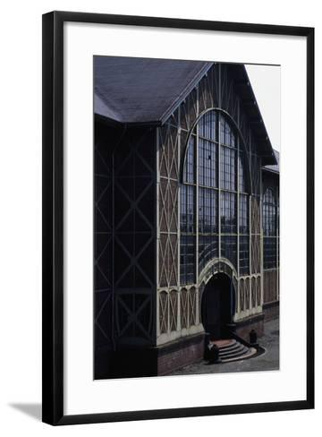 Main Entrance to the Engine Room in the Zollern Ii-Iv Colliery (Today Headquarters of the Westphali--Framed Art Print