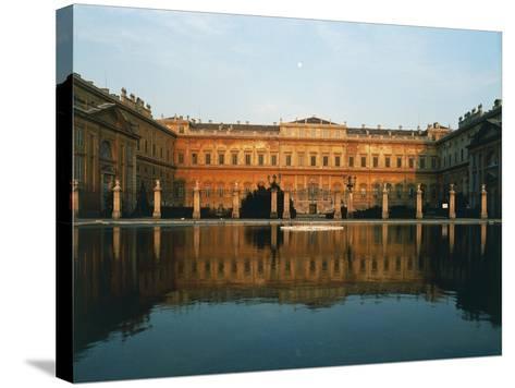 Main Facade of Royal Villa of Monza--Stretched Canvas Print