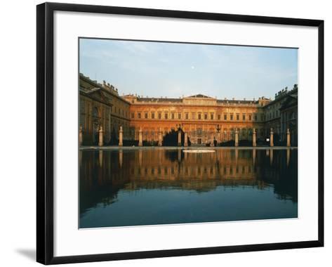 Main Facade of Royal Villa of Monza--Framed Art Print