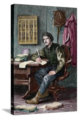 Martin Luther--Stretched Canvas Print