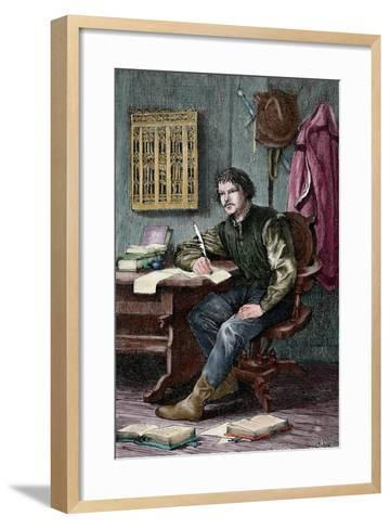 Martin Luther--Framed Art Print