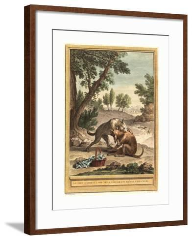 Martin Marvie after Jean Baptiste Oudry (French--Framed Art Print