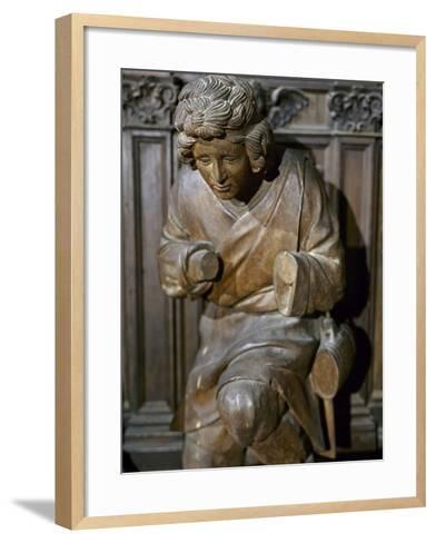 Pastor--Framed Art Print