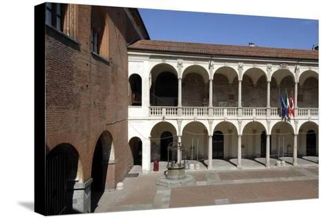 Palace of Guild (13th Century)--Stretched Canvas Print