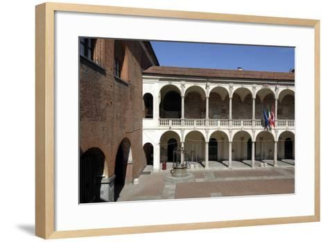 Palace of Guild (13th Century)--Framed Art Print