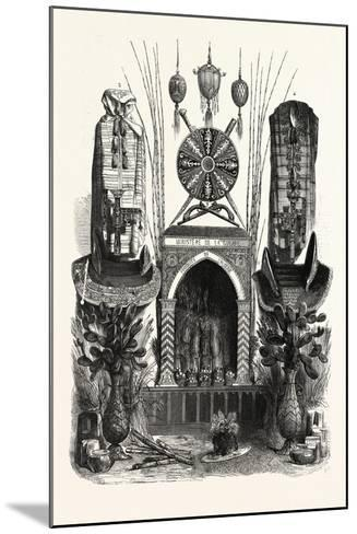Palace of Industry. Gallery Annex. Products of Algeria. 1. Ostrich Eggs--Mounted Giclee Print