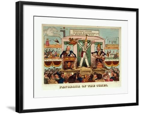 Panorama of the Times--Framed Art Print