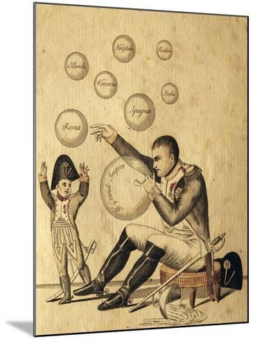 Oh Dad How Many Beautiful Bubbles You Have Made--Mounted Giclee Print