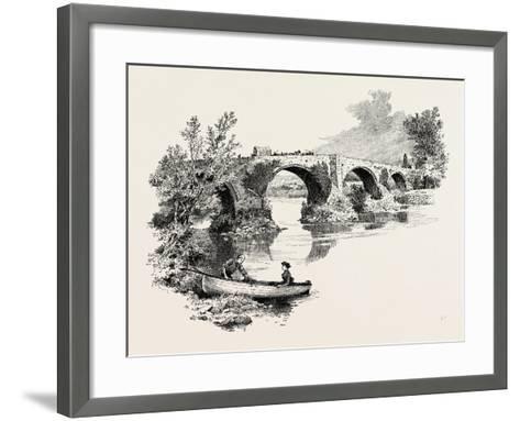 Old Bridge of Forth--Framed Art Print