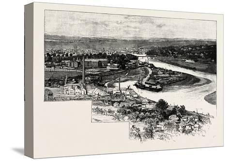 Perth--Stretched Canvas Print