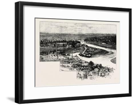 Perth--Framed Art Print
