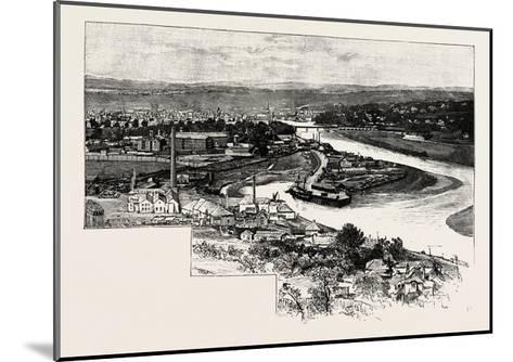 Perth--Mounted Giclee Print