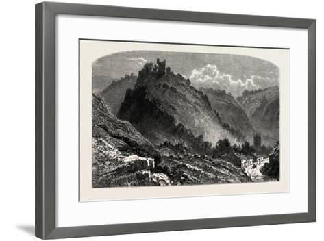 Peveril Castle--Framed Art Print