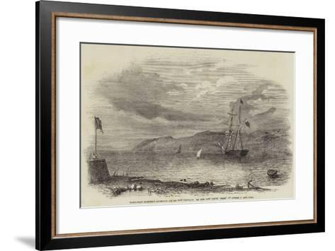 North-West Searching Expedition for Sir John Franklin--Framed Art Print