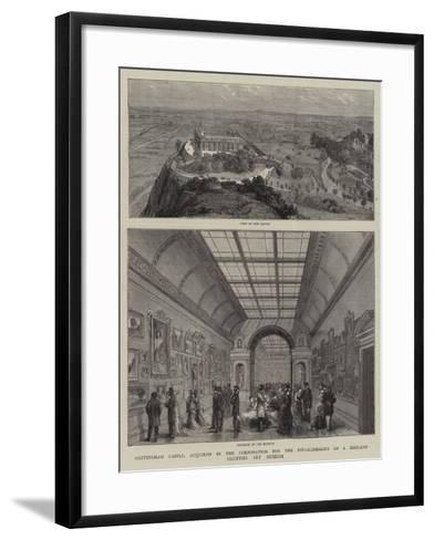 Nottingham Castle--Framed Art Print