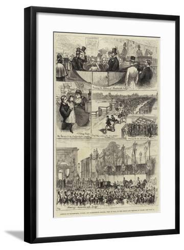 Opening of Wandsworth--Framed Art Print