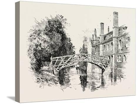 Queen's Bridge--Stretched Canvas Print