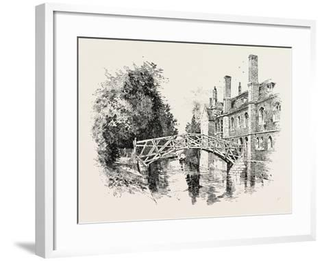 Queen's Bridge--Framed Art Print