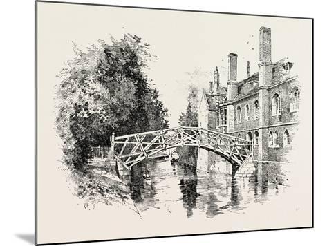 Queen's Bridge--Mounted Giclee Print
